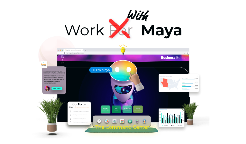 Working with Maya, become an affiliate