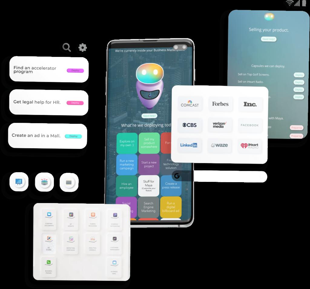 Meet Maya workstation screenshot graphic