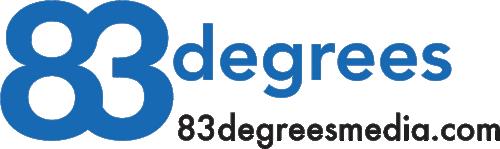 83degrees logo